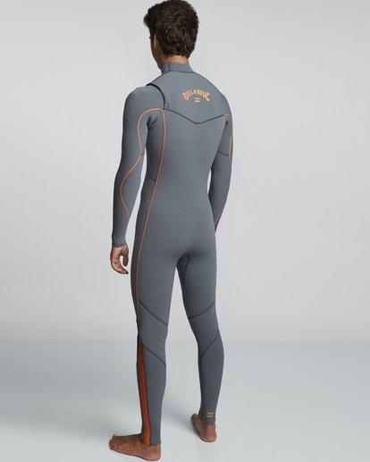 4 4/3mm Furnace Comp GBS - Chest Zip Fullsuit Neoprenanzug für Männer  Q44M03BIF9 Billabong