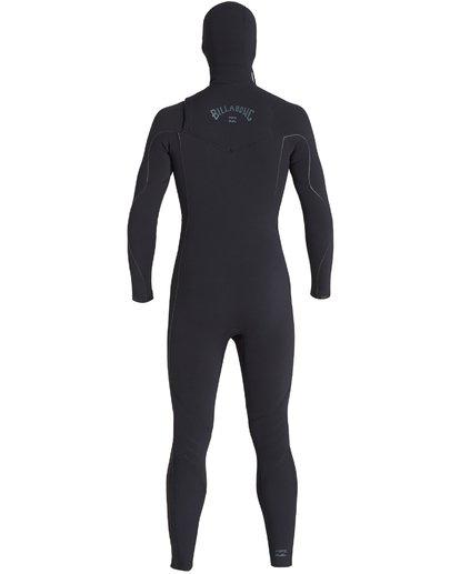 8 4/3mm Furnace Comp Hd - Chest Zip Hood Neoprenanzug für Männer Schwarz Q44M04BIF9 Billabong