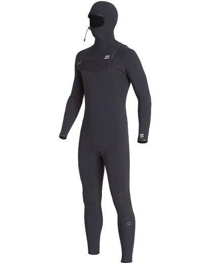 9 4/3mm Furnace Comp Hd - Chest Zip Hood Neoprenanzug für Männer Schwarz Q44M04BIF9 Billabong