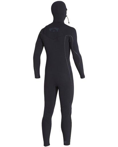 11 4/3mm Furnace Comp Hd - Chest Zip Hood Neoprenanzug für Männer Schwarz Q44M04BIF9 Billabong