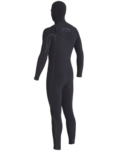 12 4/3mm Furnace Comp Hd - Chest Zip Hood Neoprenanzug für Männer Schwarz Q44M04BIF9 Billabong