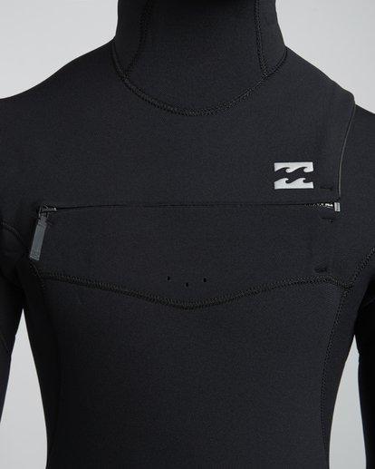 5 4/3mm Furnace Comp Hd - Chest Zip Hood Neoprenanzug für Männer Schwarz Q44M04BIF9 Billabong