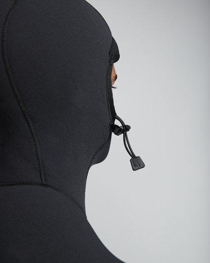 6 4/3mm Furnace Comp Hd - Chest Zip Hood Neoprenanzug für Männer Schwarz Q44M04BIF9 Billabong
