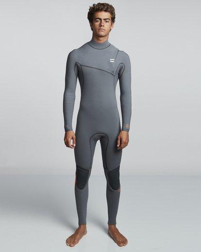 0 4/3mm Furnace Comp - Zipperless Fullsuit Neoprenanzug für Männer  Q44M05BIF9 Billabong