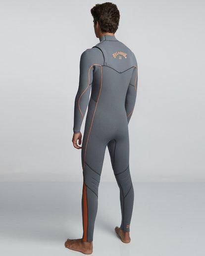 4 4/3mm Furnace Comp - Zipperless Fullsuit Neoprenanzug für Männer  Q44M05BIF9 Billabong