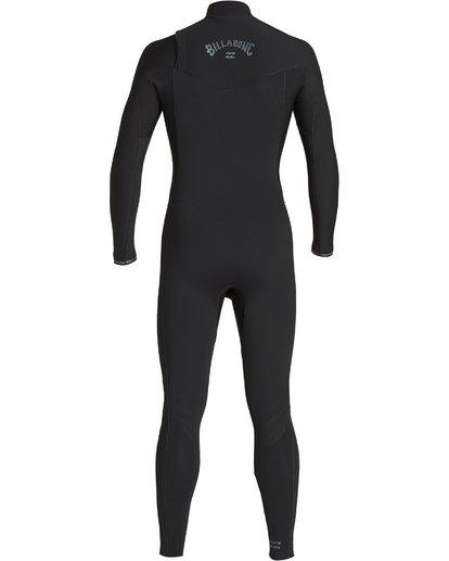 1 4/3mm Furnace Revolution - Chest Zip Langärmeliger Fullsuit Neoprenanzug für Männer Schwarz Q44M07BIF9 Billabong
