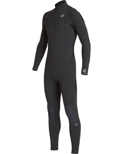 2 4/3mm Furnace Revolution - Chest Zip Langärmeliger Fullsuit Neoprenanzug für Männer Schwarz Q44M07BIF9 Billabong