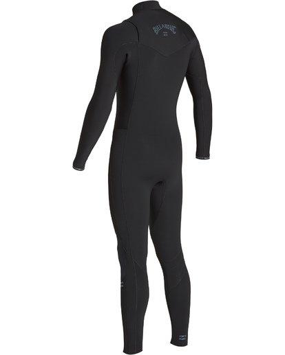 5 4/3mm Furnace Revolution - Chest Zip Langärmeliger Fullsuit Neoprenanzug für Männer Schwarz Q44M07BIF9 Billabong