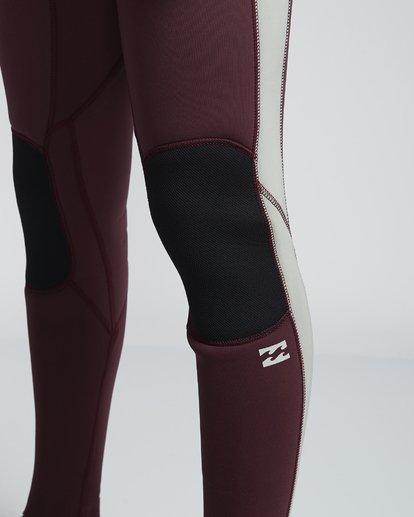 6 4/3mm Furnace Revolution - Chest Zip Langärmeliger Fullsuit Neoprenanzug für Männer Rot Q44M07BIF9 Billabong