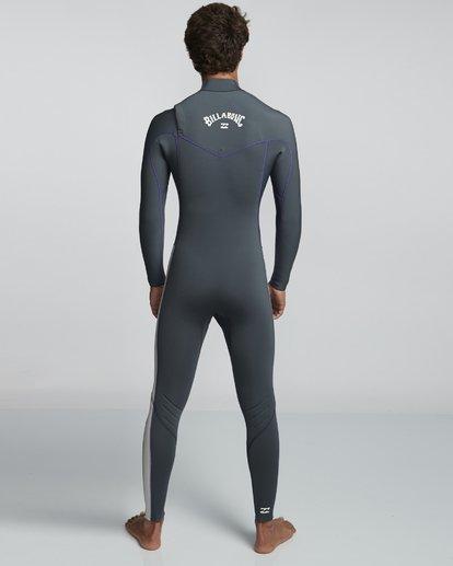 2 4/3mm Furnace Revolution - Chest Zip Langärmeliger Fullsuit Neoprenanzug für Männer  Q44M07BIF9 Billabong