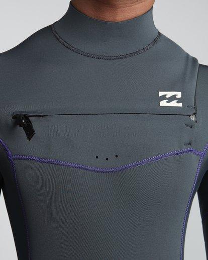 5 4/3mm Furnace Revolution - Chest Zip Langärmeliger Fullsuit Neoprenanzug für Männer  Q44M07BIF9 Billabong