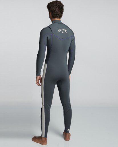 4 4/3mm Furnace Revolution - Chest Zip Langärmeliger Fullsuit Neoprenanzug für Männer  Q44M07BIF9 Billabong