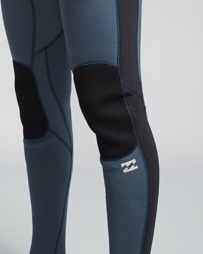 5 4/3mm Furnace Revolution - Chest Zip Langärmeliger Fullsuit Neoprenanzug für Männer Blau Q44M07BIF9 Billabong