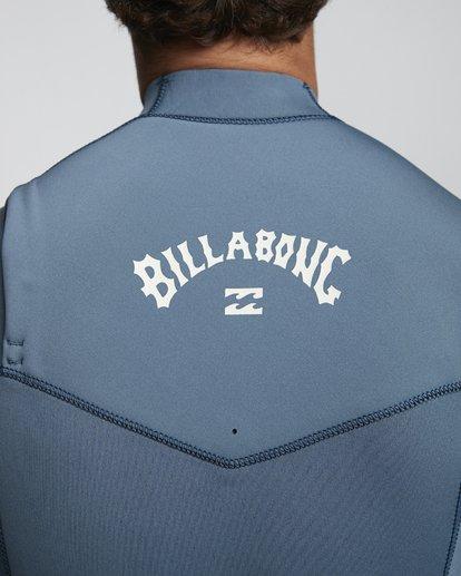 6 4/3mm Furnace Revolution - Chest Zip Langärmeliger Fullsuit Neoprenanzug für Männer Blau Q44M07BIF9 Billabong