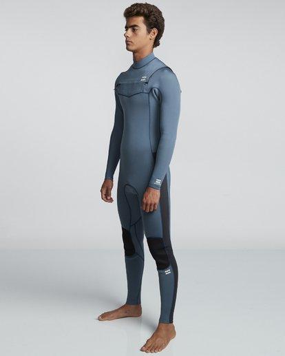 2 4/3mm Furnace Revolution - Chest Zip Langärmeliger Fullsuit Neoprenanzug für Männer Blau Q44M07BIF9 Billabong