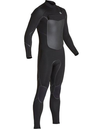 13 4/3mm Furnace Absolute X GBS - Chest Zip Neoprenanzug für Männer Schwarz Q44M08BIF9 Billabong