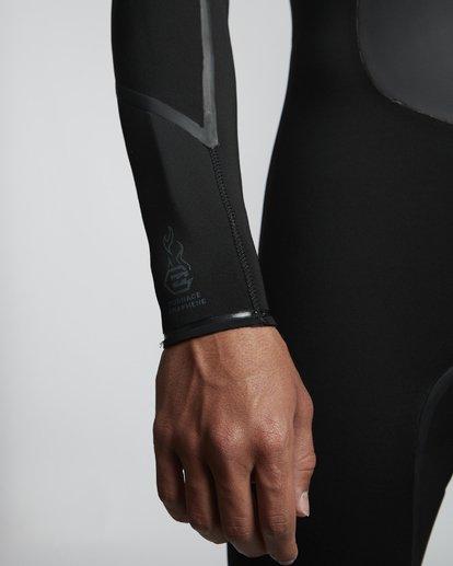7 4/3mm Furnace Absolute X GBS - Chest Zip Neoprenanzug für Männer Schwarz Q44M08BIF9 Billabong