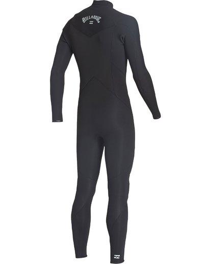 5 4/3mm Furnace Absolute GBS - Chest Zip Langärmeliger Neoprenanzug für Männer Schwarz Q44M09BIF9 Billabong