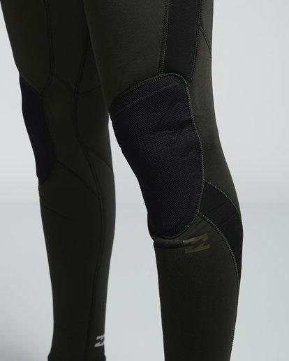 6 4/3mm Furnace Absolute GBS - Chest Zip Langärmeliger Neoprenanzug für Männer Grün Q44M09BIF9 Billabong