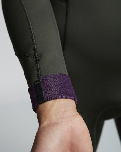 8 4/3mm Furnace Absolute GBS - Chest Zip Langärmeliger Neoprenanzug für Männer Grün Q44M09BIF9 Billabong