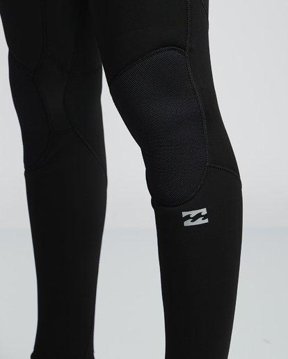 6 4/3mm Furnace Absolute GBS - Back Zip Langärmeliger Fullsuit Neoprenanzug für Männer Schwarz Q44M10BIF9 Billabong