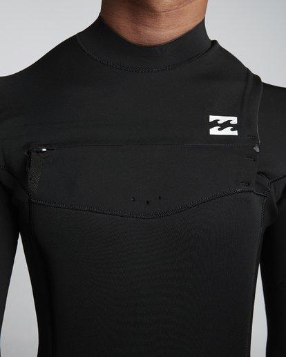6 4/3mm Furnace Absolute GBS - Back Zip Langärmeliger Fullsuit Neoprenanzug für Männer Blau Q44M10BIF9 Billabong