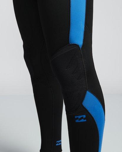 7 4/3mm Furnace Absolute GBS - Back Zip Langärmeliger Fullsuit Neoprenanzug für Männer Blau Q44M10BIF9 Billabong