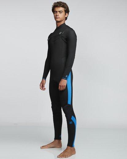 1 4/3mm Furnace Absolute GBS - Back Zip Langärmeliger Fullsuit Neoprenanzug für Männer Blau Q44M10BIF9 Billabong