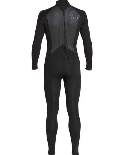 10 5/4mm Furnace Absolute GBS - Back Zip Langärmeliger Fullsuit Neoprenanzug für Jungen Schwarz Q45B03BIF9 Billabong