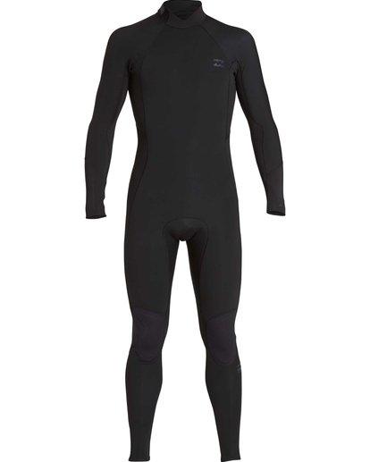 8 5/4mm Furnace Absolute GBS - Back Zip Langärmeliger Fullsuit Neoprenanzug für Jungen Schwarz Q45B03BIF9 Billabong