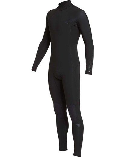 11 5/4mm Furnace Absolute GBS - Back Zip Langärmeliger Fullsuit Neoprenanzug für Jungen Schwarz Q45B03BIF9 Billabong