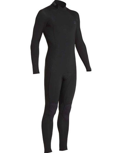 12 5/4mm Furnace Absolute GBS - Back Zip Langärmeliger Fullsuit Neoprenanzug für Jungen Schwarz Q45B03BIF9 Billabong