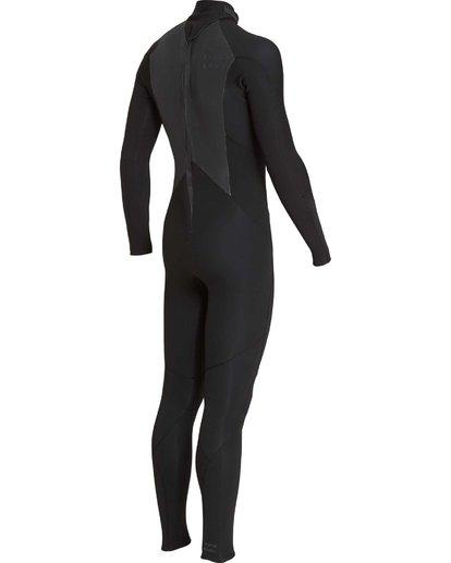 13 5/4mm Furnace Absolute GBS - Traje de Surf con Manga Larga y Cremallera en la Espalda para Chicos Negro Q45B03BIF9 Billabong