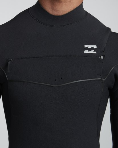 5 5/4mm Furnace Ultra  - Chest Zip für Männer Schwarz Q45M02BIF9 Billabong