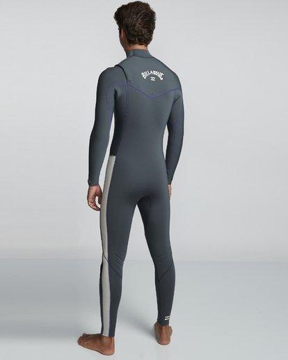 4 5/4mm Furnace Revolution - Chest Zip Langärmeliger Fullsuit Neoprenanzug für Männer  Q45M06BIF9 Billabong