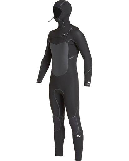 3 5/4mm Furnace Abs X Hd - Chest Zip Hood Neoprenanzug für Männer Schwarz Q45M08BIF9 Billabong