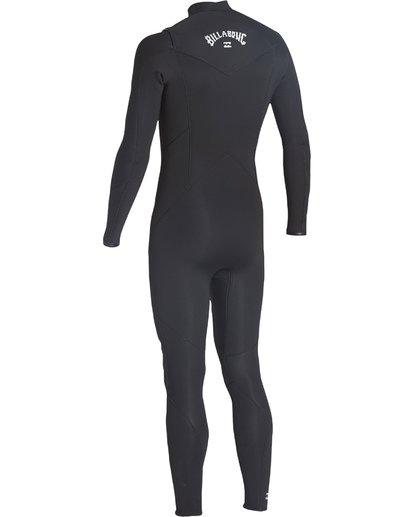 6 5/4mm Furnace Absolute GBS - Chest Zip Langärmeliger Fullsuit Neoprenanzug für Männer Schwarz Q45M09BIF9 Billabong
