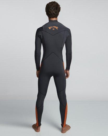 2 5/4mm Furnace Absolute GBS - Chest Zip Langärmeliger Fullsuit Neoprenanzug für Männer Schwarz Q45M09BIF9 Billabong