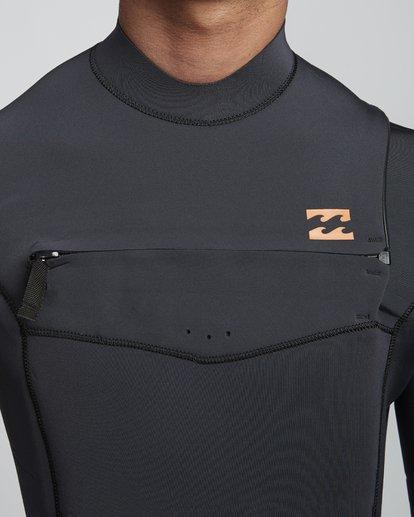 5 5/4mm Furnace Absolute GBS - Chest Zip Langärmeliger Fullsuit Neoprenanzug für Männer Schwarz Q45M09BIF9 Billabong