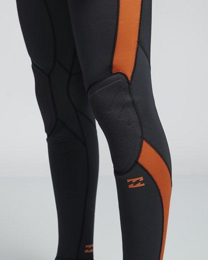 7 5/4mm Furnace Absolute GBS - Chest Zip Langärmeliger Fullsuit Neoprenanzug für Männer Schwarz Q45M09BIF9 Billabong