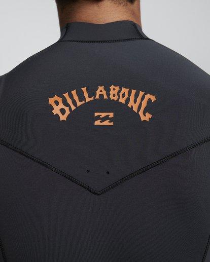 8 5/4mm Furnace Absolute GBS - Chest Zip Langärmeliger Fullsuit Neoprenanzug für Männer Schwarz Q45M09BIF9 Billabong