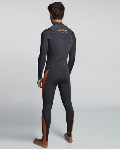 4 5/4mm Furnace Absolute GBS - Chest Zip Langärmeliger Fullsuit Neoprenanzug für Männer Schwarz Q45M09BIF9 Billabong