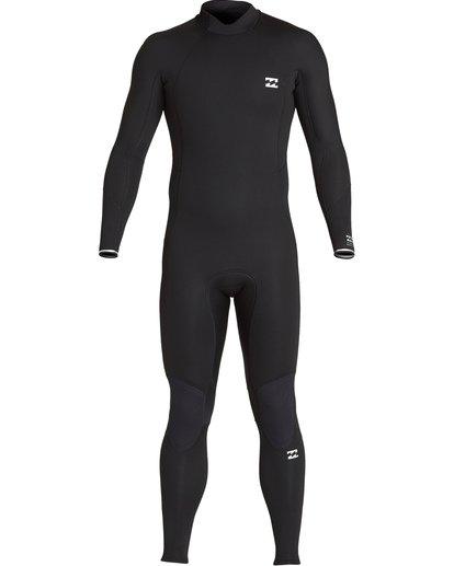 9 5/4mm Furnace Absolute GBS - Back Zip Langärmeliger Fullsuit Neoprenanzug für Männer Schwarz Q45M10BIF9 Billabong