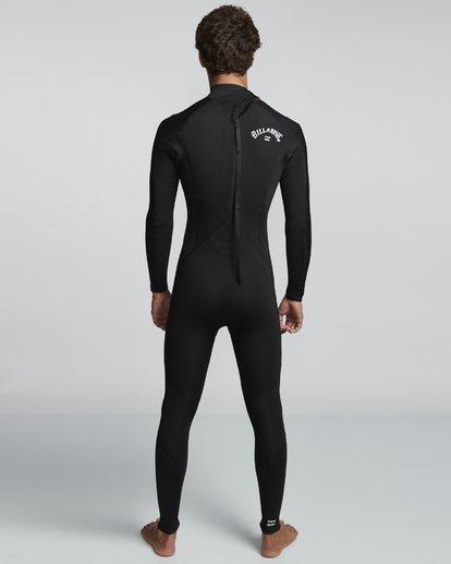 2 5/4mm Furnace Absolute GBS - Back Zip Langärmeliger Fullsuit Neoprenanzug für Männer Schwarz Q45M10BIF9 Billabong