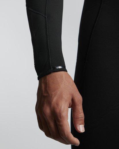 5 5/4mm Furnace Absolute GBS - Back Zip Langärmeliger Fullsuit Neoprenanzug für Männer Schwarz Q45M10BIF9 Billabong