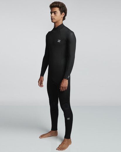 3 5/4mm Furnace Absolute GBS - Back Zip Langärmeliger Fullsuit Neoprenanzug für Männer Schwarz Q45M10BIF9 Billabong