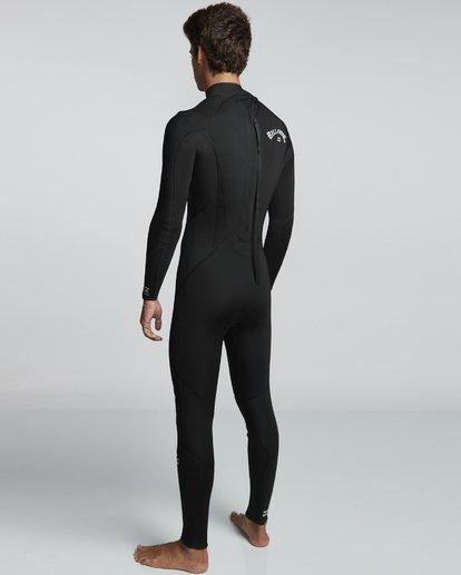 4 5/4mm Furnace Absolute GBS - Back Zip Langärmeliger Fullsuit Neoprenanzug für Männer Schwarz Q45M10BIF9 Billabong