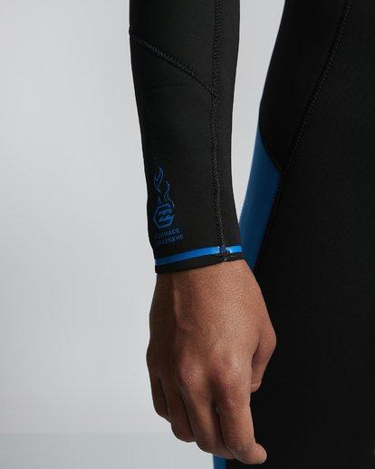 2 5/4mm Furnace Absolute GBS - Back Zip Langärmeliger Fullsuit Neoprenanzug für Männer Blau Q45M10BIF9 Billabong
