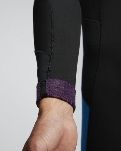 4 5/4mm Furnace Absolute GBS - Back Zip Langärmeliger Fullsuit Neoprenanzug für Männer Blau Q45M10BIF9 Billabong