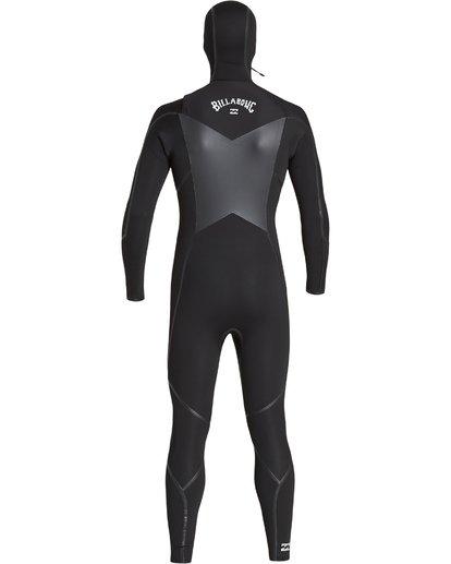 10 6/5mm Furnace Carbon Ultra Hd - Hood Neoprenanzug für Männer Schwarz Q46M01BIF9 Billabong